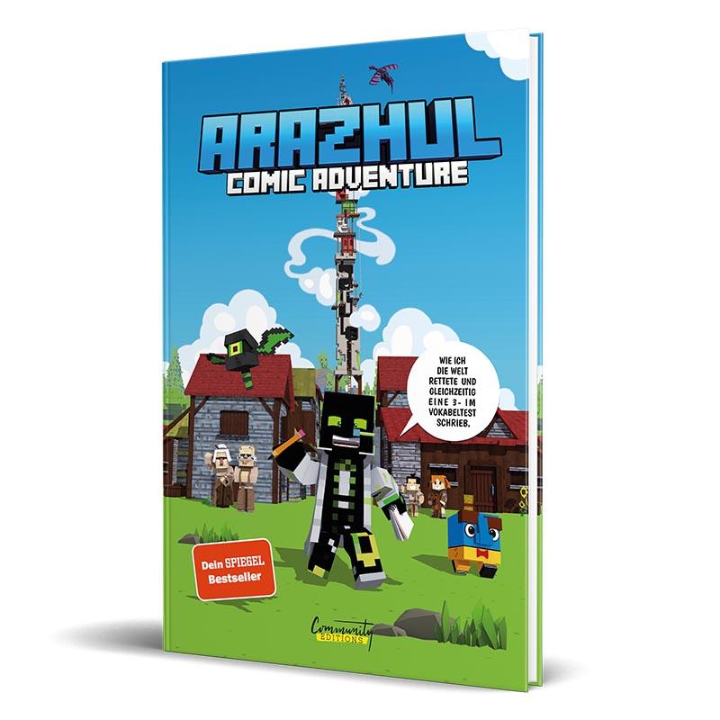 Cover vom Comic von Lets Player Arazhul - Teil 1