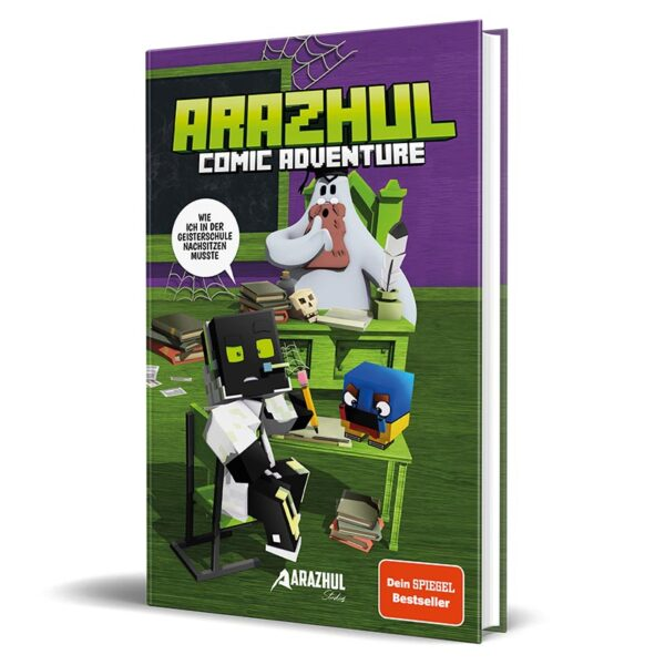 Cover vom Comic von Lets Player Arazhul - Teil 2