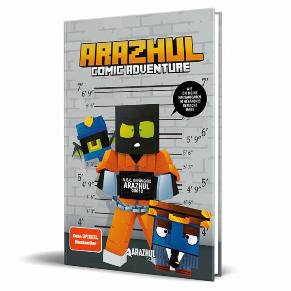 Cover vom Comic von Lets Player Arazhul - Teil 3
