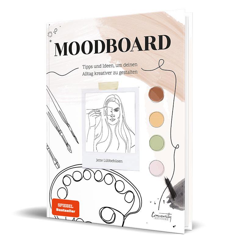 Cover vom Kreativbuch von Influencerin I'mJette - Moodboard