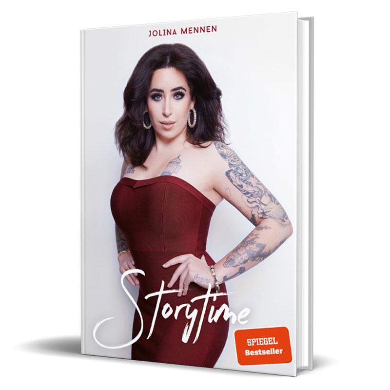 Cover von Biographie von Influencerin Jolina Mennen - Storytime