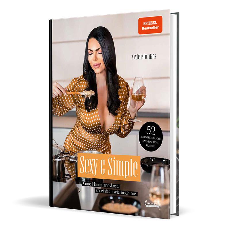 Cover vom Kochbuch von Mademoiselle Nicolette - Sexy & Simple