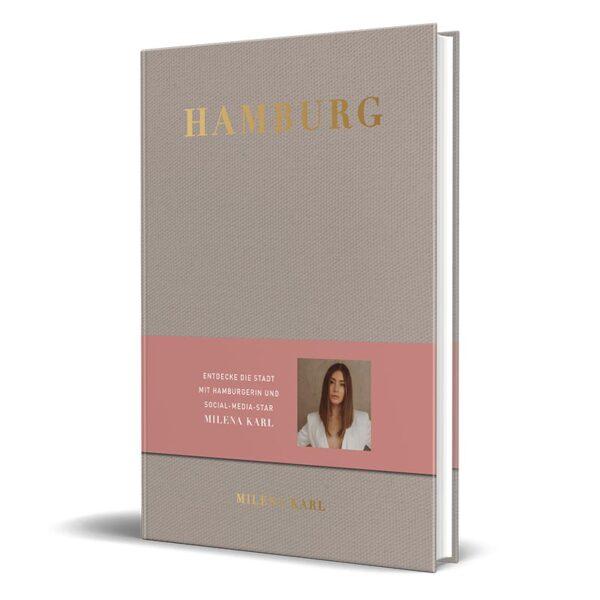 Cover vom Stadtführer von Influencerin Milena Karl - Hamburg City Guide