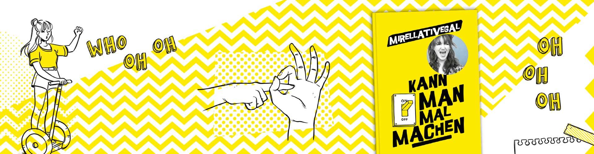Header mit Zeichnung von Mirellativegal