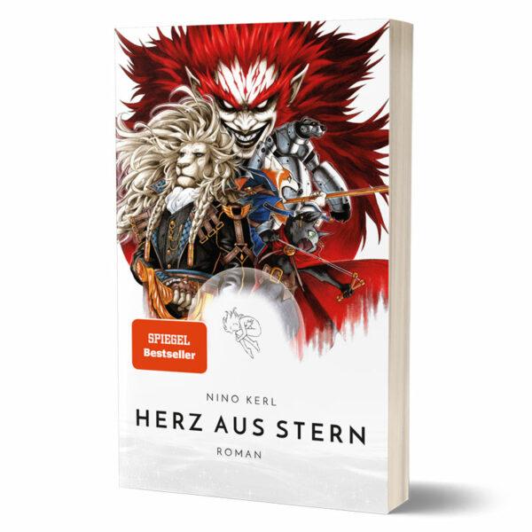 Cover vom Roman von Nino Kerl Ninotaku - Herz aus Stern