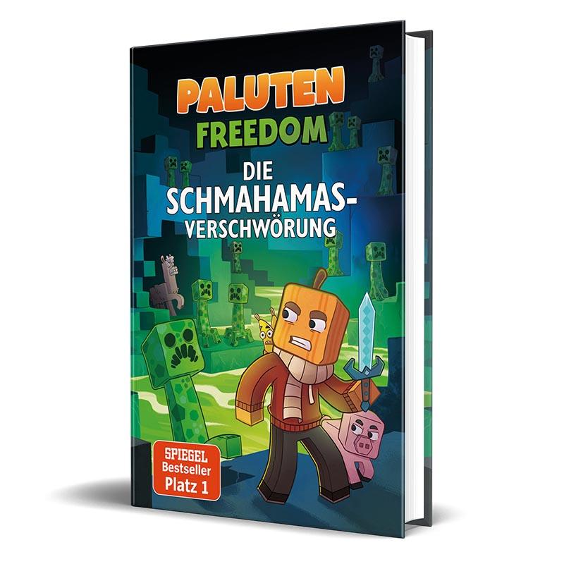 Cover vom Roman von Lets Player Paluten - Die Schmahamas-Verschwörung