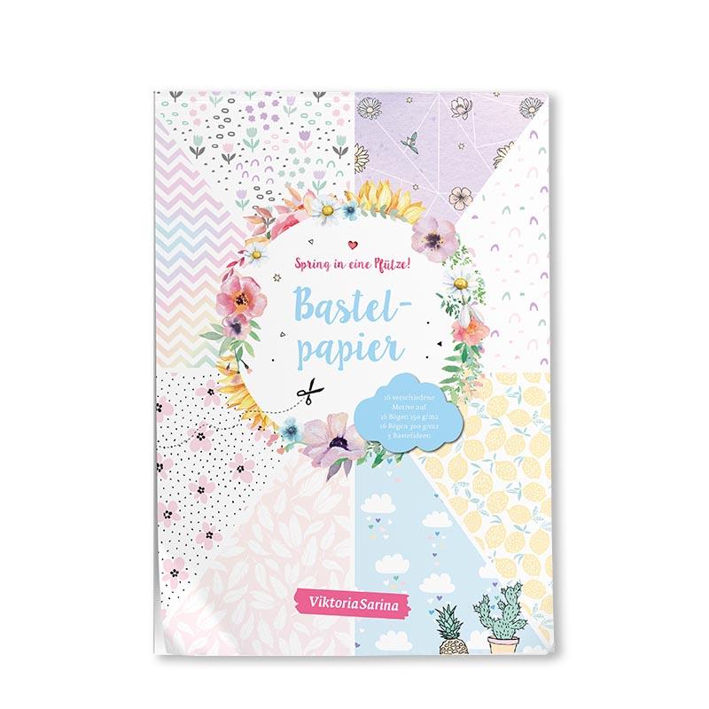 Cover vom Bastelpapier von ViktoriaSarina - Spring in eine Pfuetze!