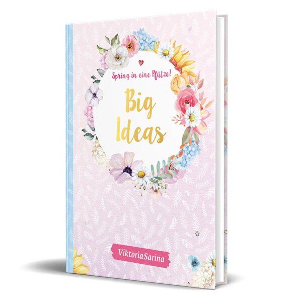 Cover von Mitmachbuch von ViktoriaSarina - Spring in eine Pfütze! Big Ideas