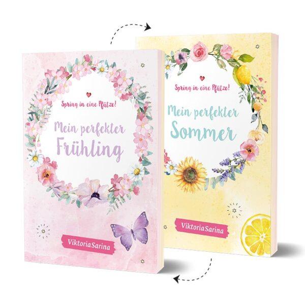 Cover vom Wendebuch von ViktoriaSarina - Mein perfekter Frühling Sommer