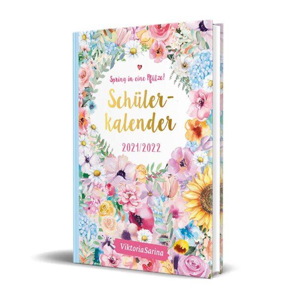 Cover vom Schülerkalender 2021/2022 von ViktoriaSarina - Spring in eine Pfuetze!