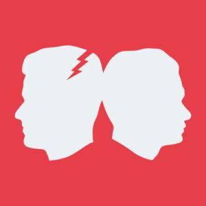 Gewitter im Kopf Grafik von Jan und Tim