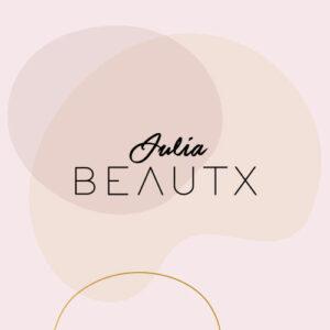 Footer Grafik mit Aufschrift Julia Beautx