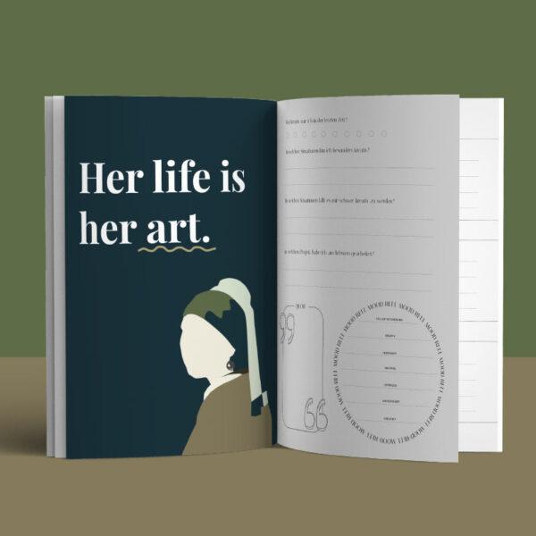 I'mJette Innenansicht 1 aus Art Journal