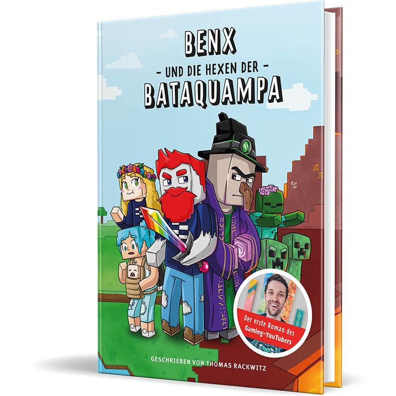 Cover vom Roman von DoctorBenx - Benx und die Hexen der Bataquampa