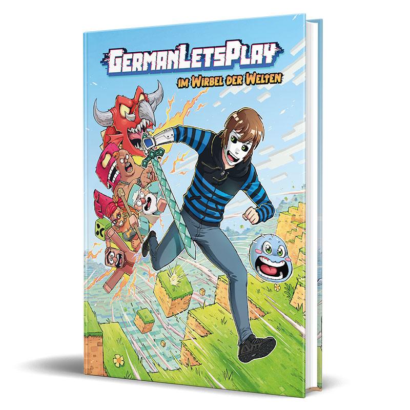 Cover vom Comic von GermanLetsPlay