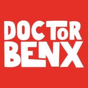 DoctorBenx Footergrafik mit Schriftzug